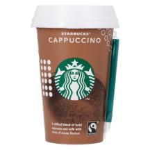 Kohvijook Cappuccino Starbucks 220ml