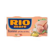 Tuncis Rio Mare olīveļļā 2x160g/112g