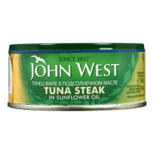 Tunai saulėgrąžų alieluje JOHN WEST, 160 g