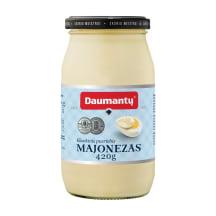 Pusriebis DAUMANTŲ KLASIKINIS majonezas, 420g