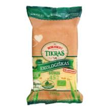 Ekol. ROKIŠKIO TIKRAS sūris, 45% rieb., 200g