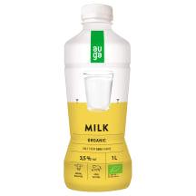 UAT Ekologiškas pienas AUGA, 3,5% rieb., 1 l