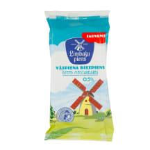 Biezpiens Limbažu piens vājpiena 0.5% 350g