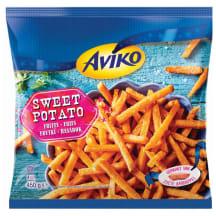 Šaldytos saldžių bulvių lazdelės AVIKO, 450 g