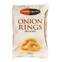 Šald. svogūnų žiedai tešloje FARM FRITES, 1kg