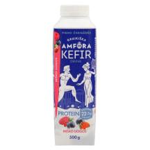 Kefīra dzēr.Amfora protein meža og.1,8% 500g