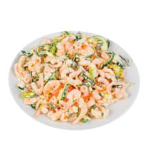 Garneļu salāti ar ikriem kg