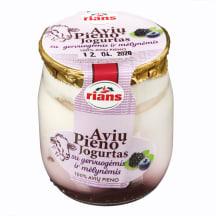Avių pieno jogurtas su mėl. ir g. RIANS, 115g