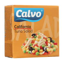 Kalifornijos tunų salotos CALVO, 150g