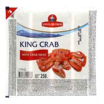 Sur. lazdelės krab.mėsa, SANTA BREMOR, 250g