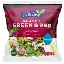 Plautų salotų mišinys GREEN & RED, 150 g