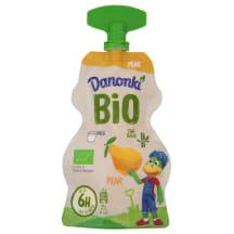 Jogurts Danonki pouch ar bumbieriem BIO 70g