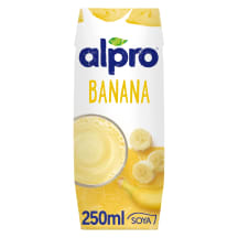 Banaani sojajook Alpro 250ml