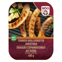 Toored grillvorstid juustuga Nõo 400g