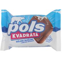 Saldējums Pols Kvadrāts šokol. glaz. 85ml/60g