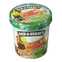 Karamelin. ledai su sausainių įdar. B&J,465ml