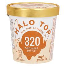 Jäätis karamelli Halo Top 473ml/272g