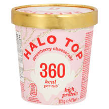 Jäätis maasika-juustuk. Halo Top 272g