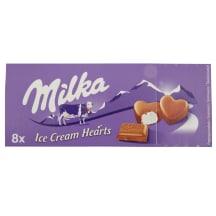 Saldējums Milka Small Bites 8x10ml/8x7g