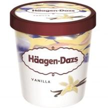 Saldējums Haagen-Dazs vaniļas 460ml/400g
