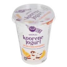 Koorene jogurt apel.-šokol. Farmi 400g