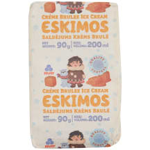 Sald. Eskimos krēma-brulē sendvičs 200ml/90g