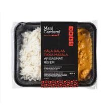 Cāļa gaļas TikkaMasala ar basmati rīsiem 400g