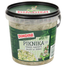 Svaigu kāpostu salāti ar dillēm,PIKNIKA 650g