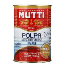 Konservuoti pjaustyti pomidorai MUTTI, 400 g