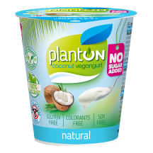 Veganiškas kokoso skonio gaminys PLANTON,160g