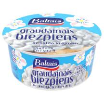 Biezp. Baltais graud. ar saldo krēj.300g