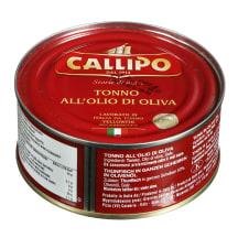Gelsvauodegis tunas aliejuje CALLIPO, 160 g