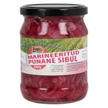 Marineeritud punane sibul Berrymush 500g