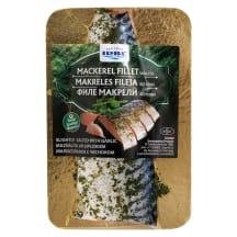 Makreles fileja Irbe ar ķiplokiem mazs. 160g