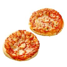 Pica su kumpiu ir mocarela sūriu 95g