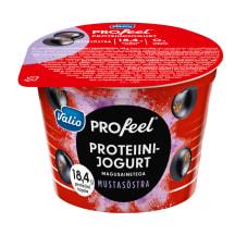 Prot.jogurt mustsõstra Valio ProFeel 200g