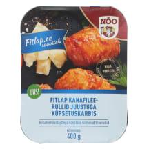 Kanafileerullid Fitlap juustuga 400g