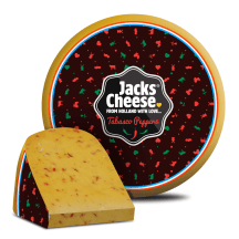 Juust tabasco paprikaga Jacks Cheese 50% kg
