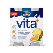 Jogurt. su ap. be lak. ALMA VITA+,1,2%,4x100g