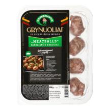Kiaul.mėsos kukul.MEATBALLS GRYNUOLIAI,300g