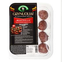 Jaut.mėsos kukul. MEATBALLS GRYNUOLIAI,300g