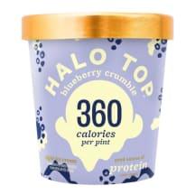 Jäätis mustika Halo Top 473ml/272g