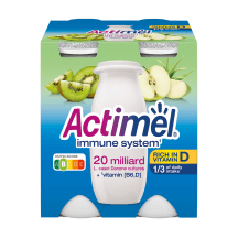 Jogurtijook kiivi-õuna Actimel 4x100g