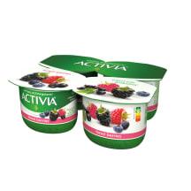 Jogurt metsamarja Activia 4x120g