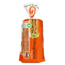 Visų grūdo dalių SUMUŠTINIŲ duona, 500 g