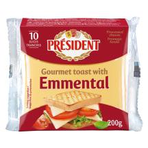 Lydytas sūris su EMENTALIO sūriu, 200 g