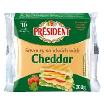 Kaus. siers Presedent Čedaras šķ. 200g