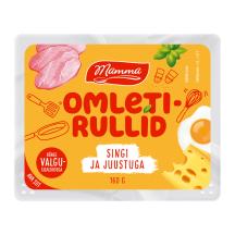 Omletirullid singi ja juustuga Mamma 160g
