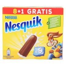 Jäätis Nesquik kakao 9x36g/9x43ml