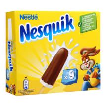 Kakaviniai ir vanil. ledai NESQUIK, 9 x43 ml